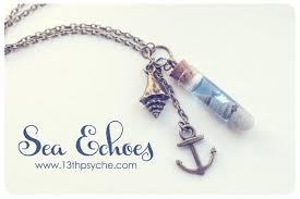 bottle necklace pendant images Ocean bottle necklace shell vial necklace sea bottle pendant jpg