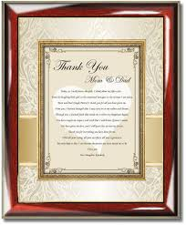 wedding gift ideas for parents wedding gift ideas for parents from and groom