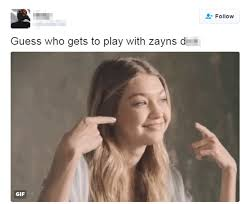Zayn Malik Memes - zayn malik laughs with fans over rude online meme of girlfriend