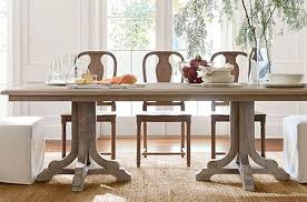 Dining Room Sets With Fabric Chairs by Dining Room Sets Pottery Barn