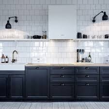 pictures of kitchens modern two tone kitchen cabinets black and