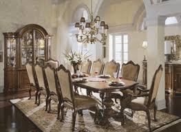 dining room unusual chairs around vintage table as elegant formal