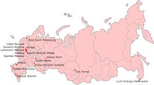Moscow Russia Map File Russian Premier League 2007 Map Png Wikimedia Commons