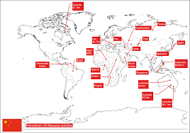 Scramble For Africa Map by Chinese Corporations And The Scramble For Resources A Study In