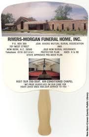 funeral fans vintage guardian angel funeral advertising fan guardian