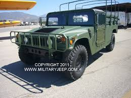 jeep humvee militaryjeep com humvee m998 two man truck for sale