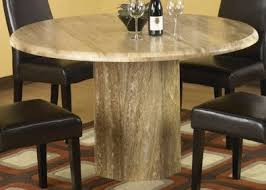 round stone dining room tables best dining room