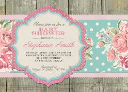 shabby chic baby shower top 13 shabby chic baby shower invitations trends in 2017