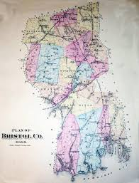 Massachusetts Counties Map by 1871 Map Of Bristol County In Massachusetts Www Whalingcity Net