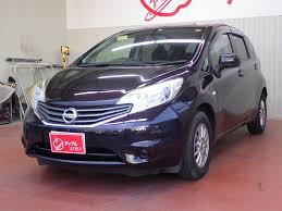 nissan note nissan note x japanese used vehicles exporter tomisho