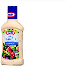 robert fresh market kraft salad dressing taco bell spicy ranch