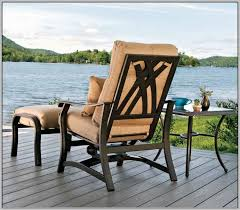 reclining patio chair with ottoman patio chair with ottoman oknws com