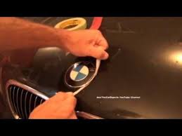 bmw emblem replacement diy roundel replacement made easy