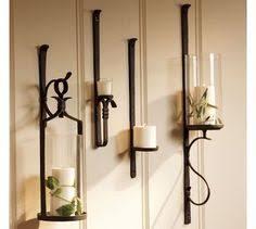 for fireplace pillar holder set of 2 pottery barn artisanal