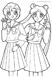 cute sailor moon coloring pages sailor moon coloring pages