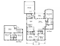 Narrow Lot House Plans With Rear Garage House Plans With Large Garage