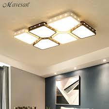plafonnier pour chambre moderne led plafonniers pour le salon chambre luminaire plafonnier