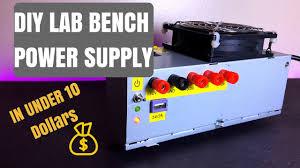 Pc Power Supply Bench Diy Lab Bench Power Supply Computer Atx Power Supply Conversion