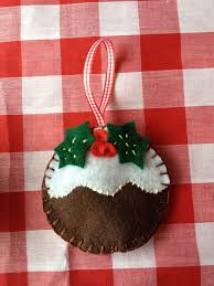 felt christmas decorations u2013 gingerbread man robin christmas