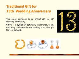 13th wedding anniversary gift ideas 13th wedding anniversary gifts niversry13th wedding anniversary gift