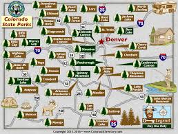 parks map colorado state parks map co vacation directory