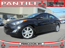 used 2013 hyundai elantra for sale princeton wv stock m3746a