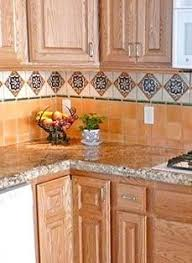granite that goes with mexican tile backsplash google search