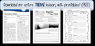 themes for my story a lesson on theme