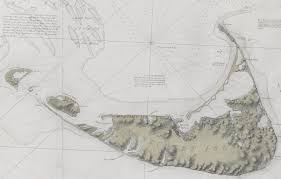 Boston Harbor Map by From The Atlantic Neptune The First Chart Of Nantucket And