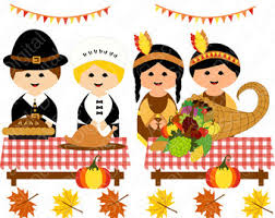 thanksgiving feast clip clip library