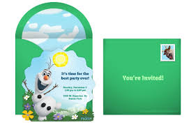 Birthday Card Invitations Ideas Plan A Whimsical Frozen Birthday Party