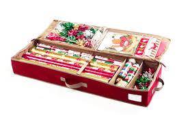 storage simple giftwrap storage bag ornament storage box