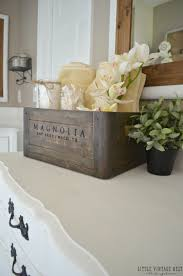 Ideas For Kids Bathrooms 5 Ways To Style A Wooden Crate Wooden Crates Kid Bathrooms And