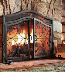 best 25 wrought iron fireplace screen ideas on