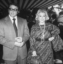 zsa zsa gabor dies of a heart attack aged 99 daily mail online