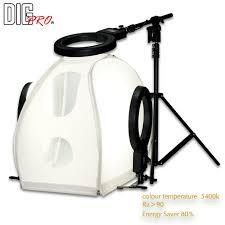 home photography lighting kit digpro 130cm 3 light shadowless studio kit product photography