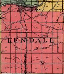 Place names geographical features of kendall county kendall