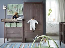 wickeltisch design ein kinderzimmer mit sundvik wickeltisch kommode in graubraun
