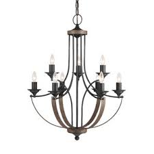 Candle Style Chandelier Lammers 6 Light Candle Style Chandelier Joss U0026 Main