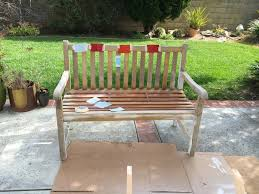 Wood Patio Chairs by Painting Outdoor Wood Patio Set Makeover Anika U0027s Diy Life