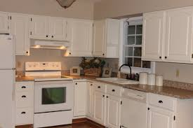 kitchen stone backsplash ideas with dark cabinets wainscoting
