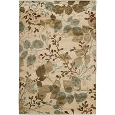 shop artistic weavers eden ivory rectangular indoor woven area rug