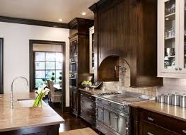 brown cabinets kitchen 30 classy projects with dark kitchen cabinets home remodeling