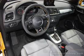audi q3 dashboard audi q3 facelift to launch in india on june 18