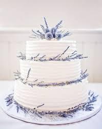 wedding cake lavender wedding cake ideas white cake with lavender sprigs diy weddings