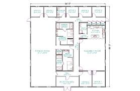 shop with apartment floor plans modern house plans plan for commercial buildings 4 bedroom floor