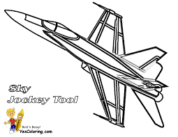 airplane coloring pages for kids kids color airplanes to printout