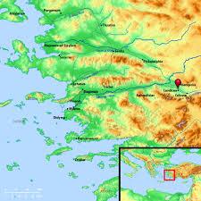 Asia Minor Map by Laodicea La Od I Se U0027 A Laodikia A City Of Asia Minor Situated
