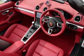 porsche boxster interior new porsche 718 boxster 2016 review pictures new porsche 718