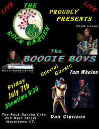Rock Garden Watertown Ct Boogie Boys Return To The Rock Garden Ck Boogie Boys Ct